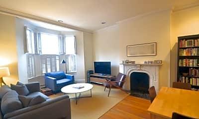 Living Room, 449 Beacon St 6, 1