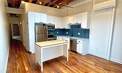 Kitchen, 1523 Oak St, 1