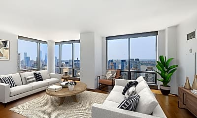 Living Room, 200 West 67th Street #41A, 0