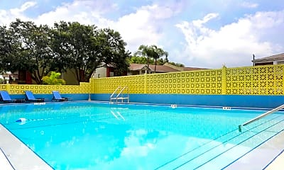 Pool, Cortez Plaza Apartments, 0
