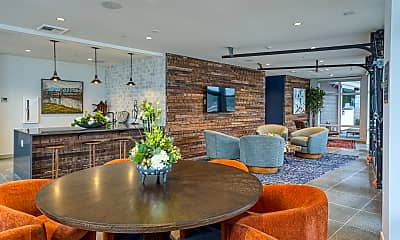 Dining Room, Zephyr on the Park Apartments, 2