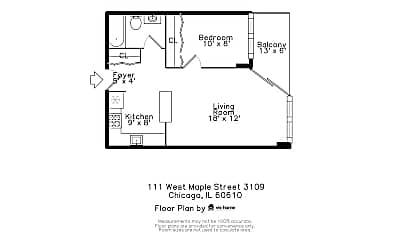 111 W Maple St 3109, 2