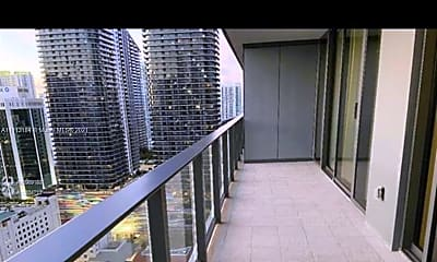 Patio / Deck, 1000 Brickell Plaza 2904, 0
