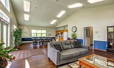 Clubhouse, Cayuga View Apartments, 1