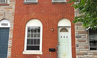 Building, 328 S Calhoun St, 0