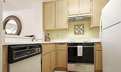 Kitchen, Loma Linda Springs Apartments, 1