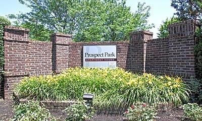 Community Signage, Prospect Park, 2