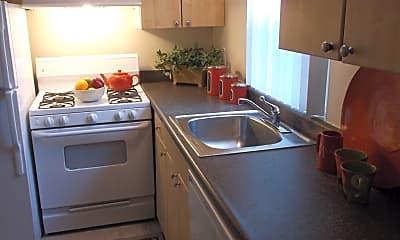 Kitchen, Sutterfield Apartments, 1