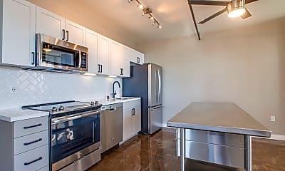 Kitchen, Broadway Lofts, 0