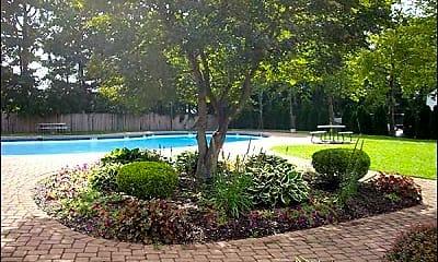 Pool, North Village Apartments, 2