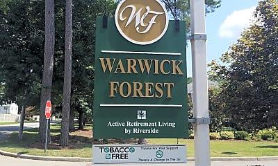 Warwick Forest, 1