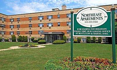 Building, Northeast Apartments, 0