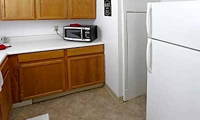 Kitchen, Lafayette Townhomes, 1