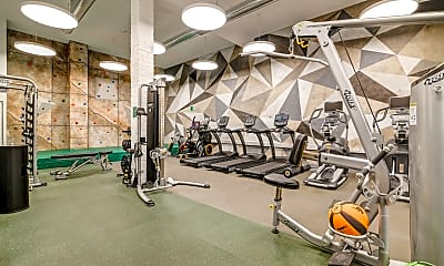 Fitness Weight Room, The Brynx, 2