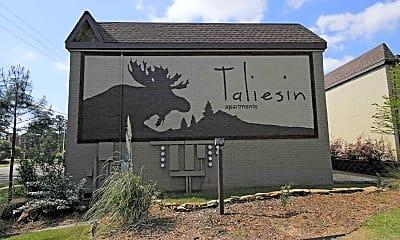Community Signage, Taliesin, 2
