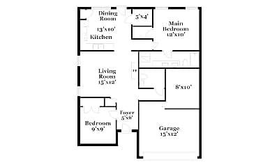 6005 Deck House Rd, 1