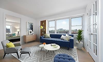Living Room, 60 W 142nd St 14-D, 0