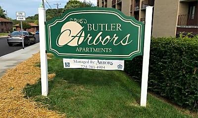 Butler Arbors, 1
