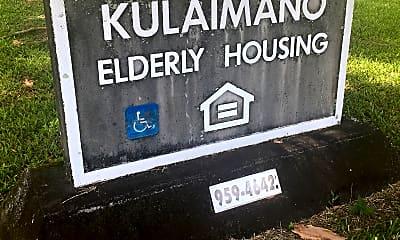 Kulaimano Elderly Housing, 1