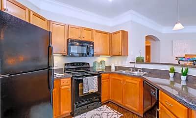 Kitchen, Villas of Kingwood, 1