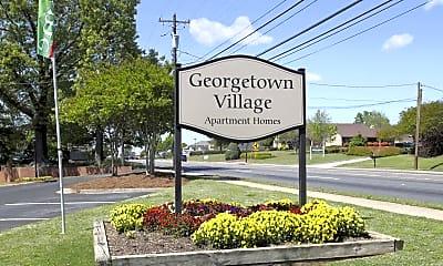 Community Signage, Georgetown Village, 2
