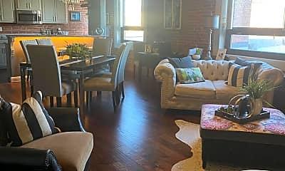 Living Room, 214 E 4th St 303, 0