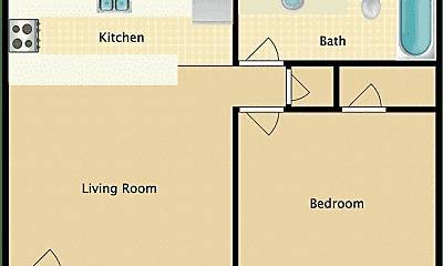 Kitchen, 1821 S Pierce St, 1