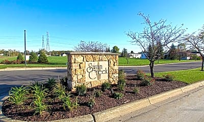 Community Signage, Swan Creek, 0