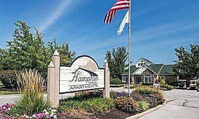 Community Signage, Hampton Farms, 1