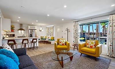 Living Room, 6805 E 2nd St, 0