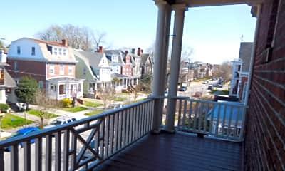 Patio / Deck, Westover Apartments, 2