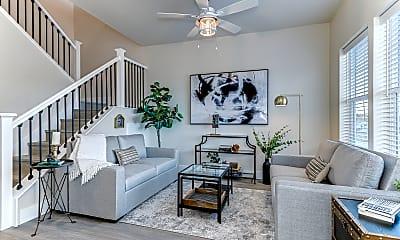 Living Room, Cedar Crossing Luxury Townhomes, 1