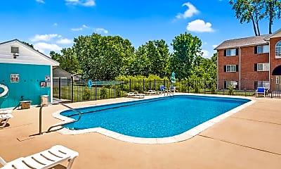 Pool, 832 Park Entrance Pl, 2