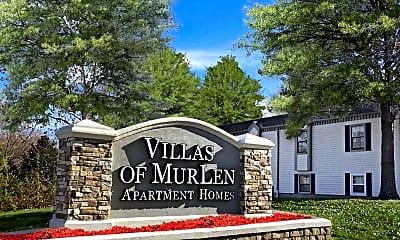 Community Signage, Villas of Mur-Len, 1