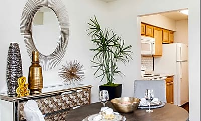 Dining Room, Belmont Hill Apartments, 1