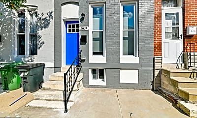 Building, 2631 Boone St, 1