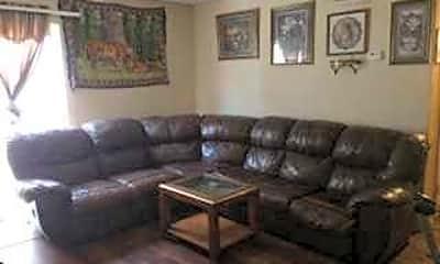 Living Room, Continental Apartments, 0