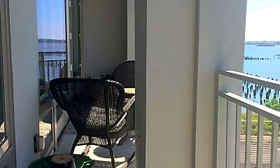 Patio / Deck, 90 Bay Street Landing 3-C, 1