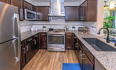 Kitchen, Level 25 at Sunset, 1