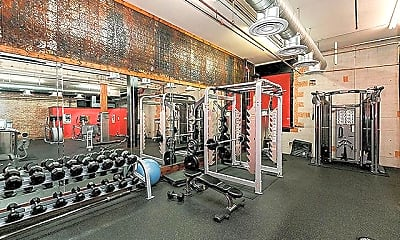 Fitness Weight Room, 1900 Elm St, 1