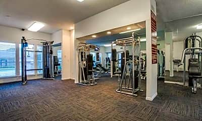Fitness Weight Room, The Blake, 2
