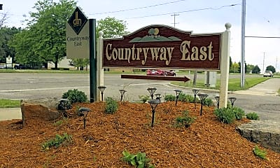 Community Signage, Countryway East, 2