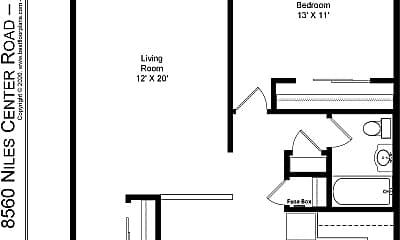 Building, 8540 Niles Center Rd, 2