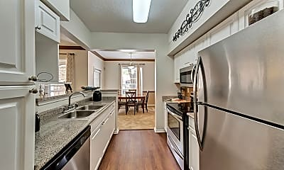 Kitchen, The Lodge At Copperfield, 2