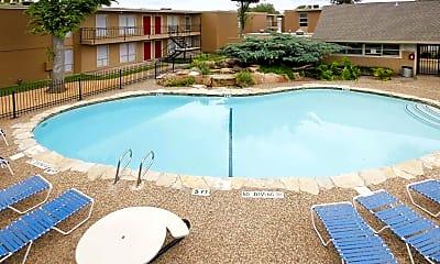Pool, Braeswood Oaks, 0