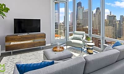 Living Room, 1201 N LaSalle St, 1