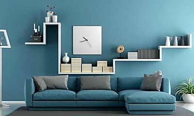 Living Room, Tela Verde Apartments, 1