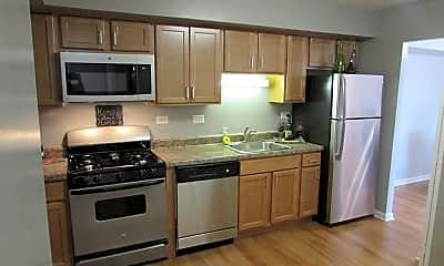 Kitchen, Townhomes at Highcrest, 0
