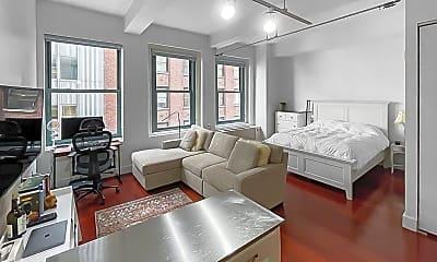 Living Room, 80 John St 7-H, 0