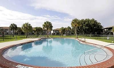 Pool, Paradise Cay, 1
